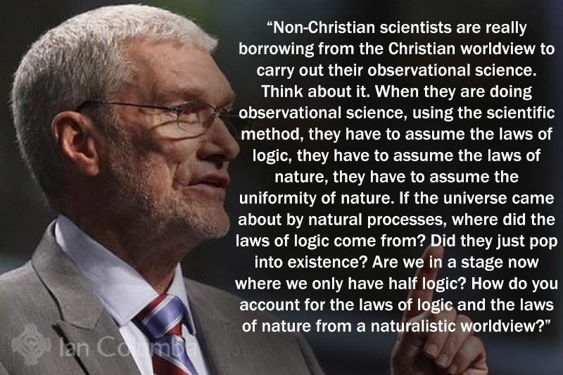 Scientists Borrow From the Christian Worldview